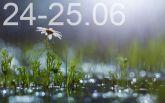 Прогноз погоди на вихідні дні в Україні - 24-25 червня