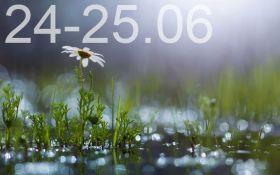 Прогноз погоды на выходные дни в Украине - 24-25 июня