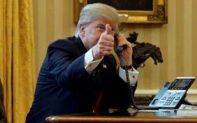 """Трамп поздравил Макрона с """"большой победой"""" на выборах президента Франции"""