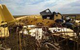 Падение самолета в Хмельницкой области: полиция назвала причину аварии