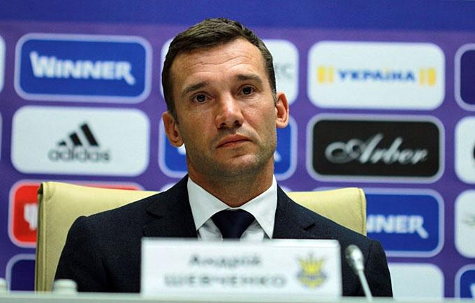 Шевченко офіційно очолив збірну України