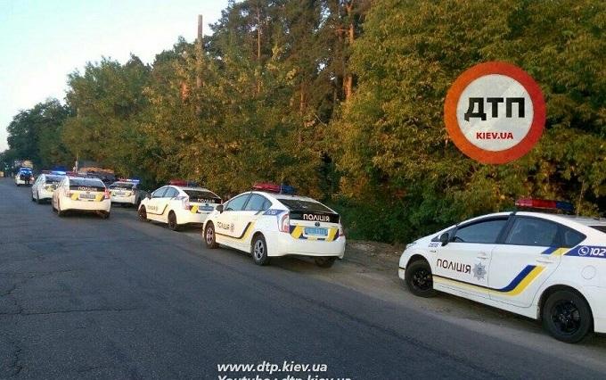 У Києві поліцейські влаштували погоню за порушником: з'явилися фото