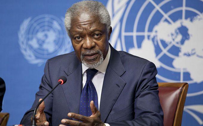 Умер экс-глава ООН Кофи Аннан