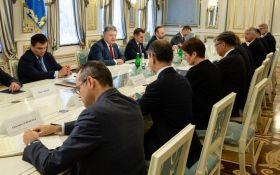 Встреча Порошенко с послами ЕС и G7: названа ключевая тема переговоров