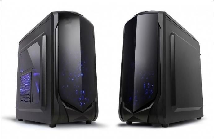 Компания X2 Products представила два ПК-корпуса Spitzer