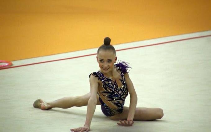 Юная украинская гимнастка триумфально победила на международном турнире