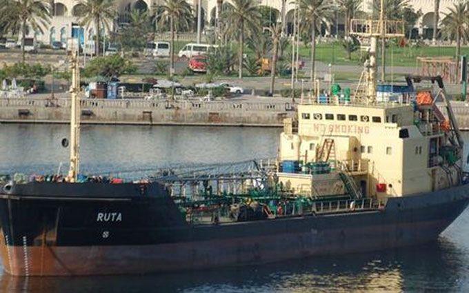 ВМС Ливии захватили украинский танкер сконтрабандой нефти