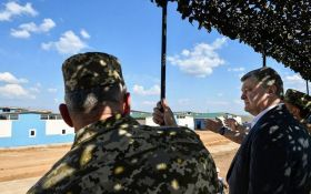 Лучше, чем в странах НАТО: Порошенко показал новый военный полигон в Украине