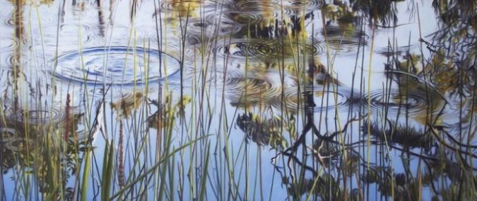 Водная рябь в картинах маслом (15 фото)