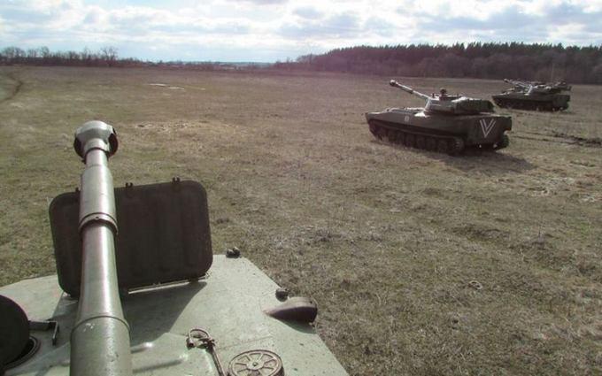 Как украинские военные готовятся к боям в зоне АТО: появились фото