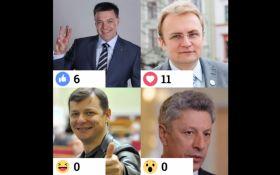 """Опрос дня: """"Президентские выборы"""" на ONLINE.UA - день второй"""