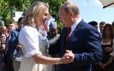 Весілля глави МЗС Австрії: з'явилися фото і відео танцю Путіна з нареченою