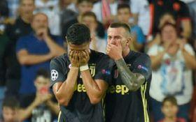 Роналду заплакав після вилучення у матчі Ліги чемпіонів - емоційне відео