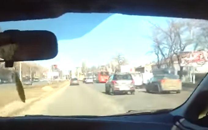 Одесские копы выложили видео драматичной погони за грабителями