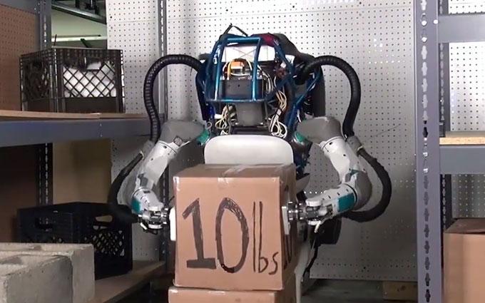 Создана новая версия робота Atlas: опубликовано видео