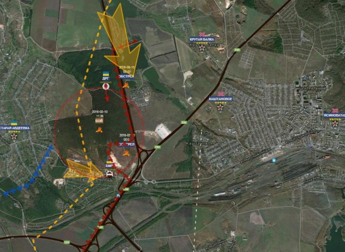 Успехи украинских бойцов под Ясиноватой: опубликованы анализ и видео (1)