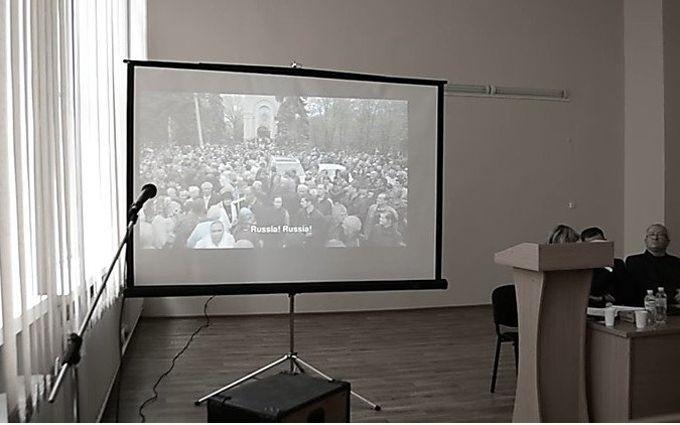 """В Николаеве попытались пропагандировать """"русскую весну"""": опубликованы видео"""