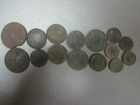 Жінка намагалася вивезти з України старовинні монети (1)