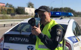 Поліція починає карати за перевищення швидкості: які штрафи
