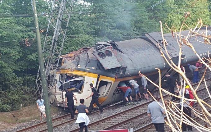 Трагедія з пасажирським поїздом шокувала Іспанію: опубліковані відео та фото