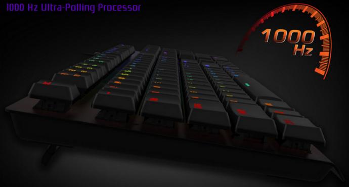 Tesoro представила ігрову клавіатуру Gram Spectrum RGB (1)