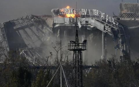 """У Донецькому аеропорту знайдені останки трьох """"кіборгів"""""""