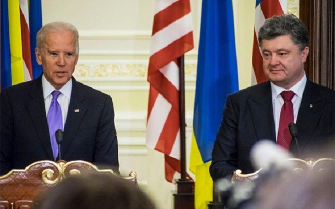 Байден розповів Порошенко шокуючі речі про ЄС і Росію