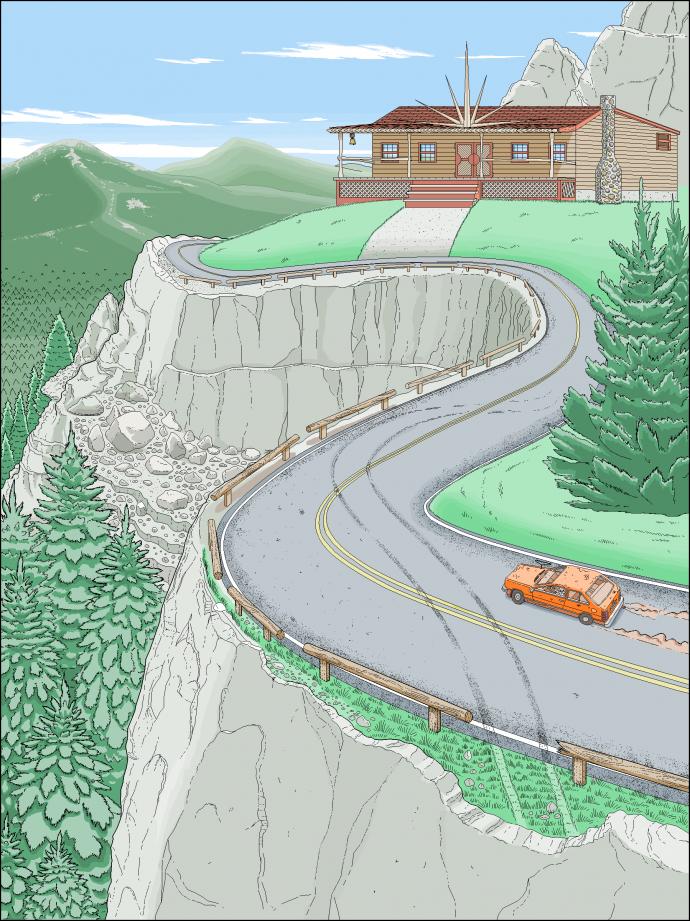 10 лет в Paint: писатель из США проиллюстрировал свою книгу с помощью программы для начинающих (1)