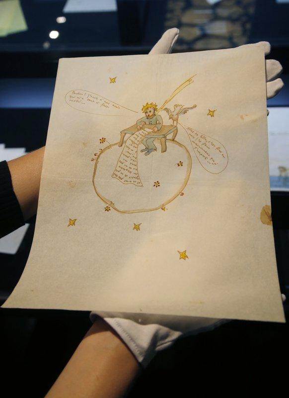 Малюнок з таємного послання Екзюпері був проданий на аукціоні за рекордну суму (1)