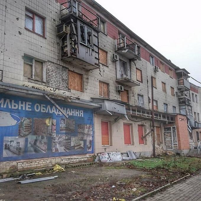 Ситуация на Донбассе: в сети появились свежие фото разрухи в Донецке (3)