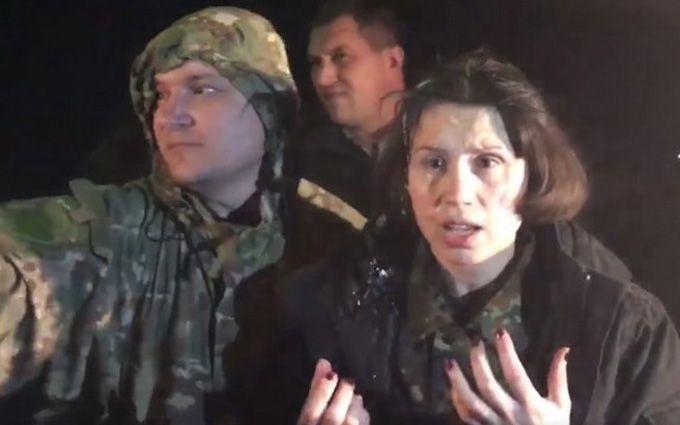 Блокада Донбасса: активисты забросали нардепа яйцами, появилось видео