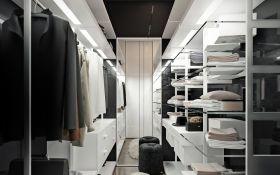 Гардеробна - не розкіш: 10 правил планування ідеальної кімнати