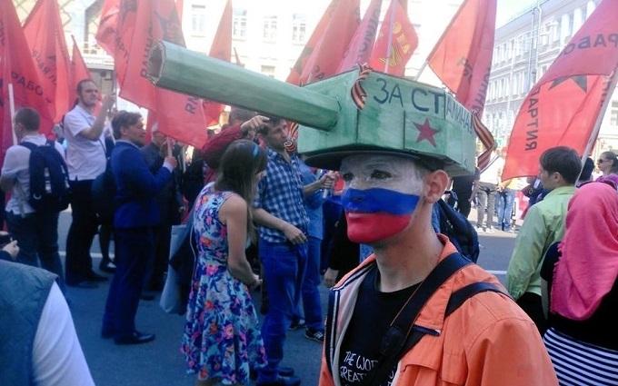 """Російський """"воєнторг"""" для Донбасу: опубліковане смішне фото"""