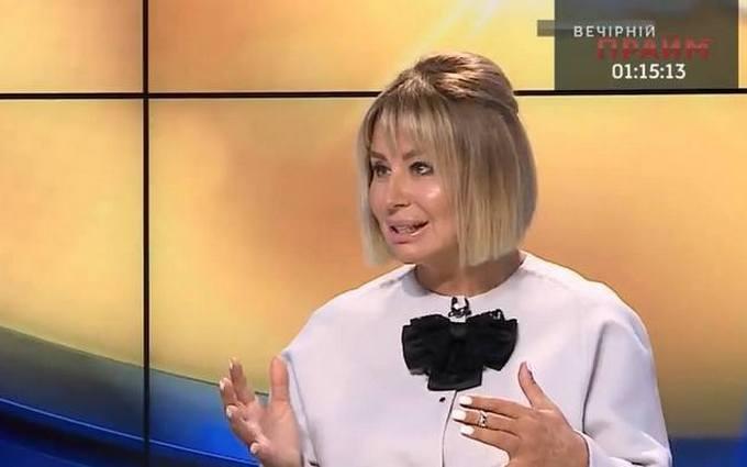 Колишня соратниця Януковича на ТБ викликала гнів і сміх в мережі: опубліковані фото