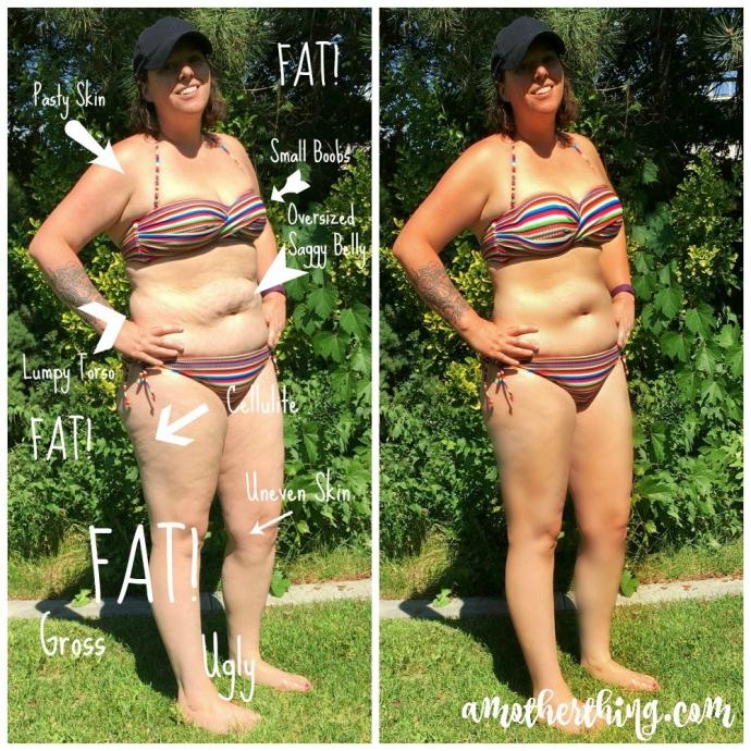 Мама за допомогою фотошопу пояснила синам, чому не можна називати жінок жирними (1)