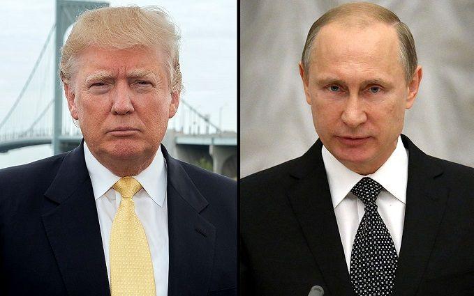 Стало известно, о чем говорили Путин и Трамп