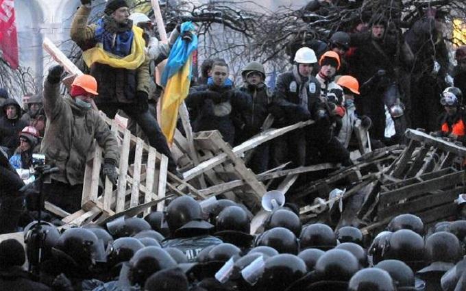 В сети вспомнили переломный момент Евромайдана: опубликованы фото