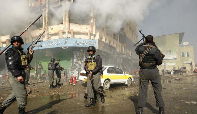 Террорист напал на здание полиции в Кабуле