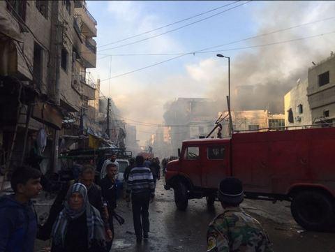 Взрывы в Дамаске унесли более 30 жизней: опубликованы фото (4)