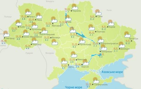 Погода на сьогодні: в Україну повертається тепло (1)