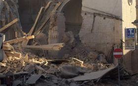 Землетрясение в Италии: появилось видео момента