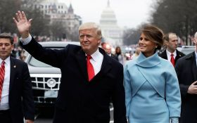 Инаугурация Трампа: новый президент США принял парад, появилось видео