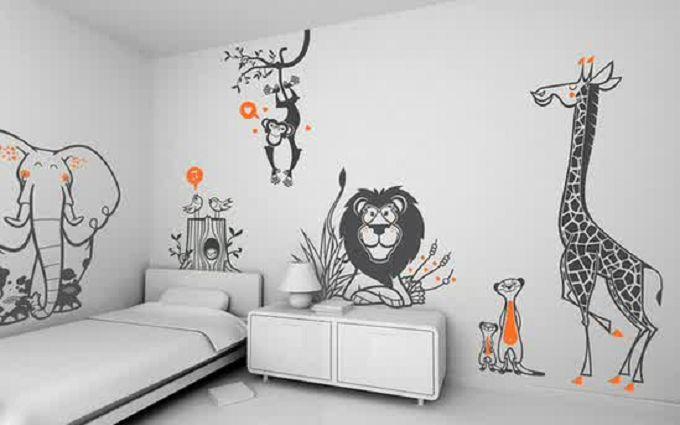 Как украсить стены детской, чтобы ребенку было уютно: вдохновляющие фото