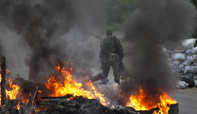 Позиции АТО были обстреляны боевиками 20 раз