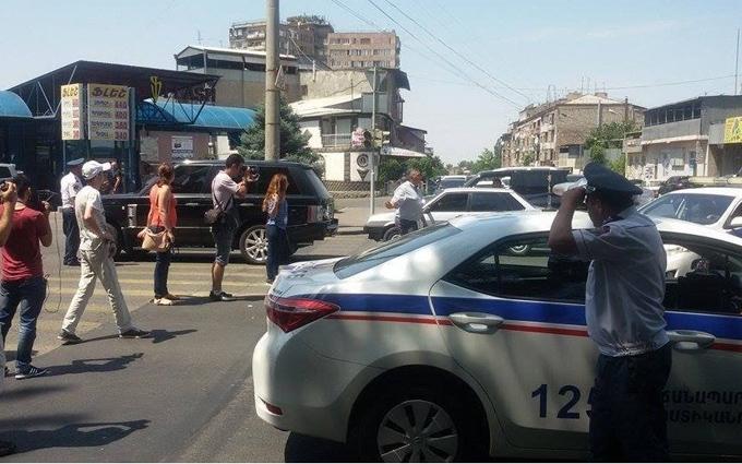 У Єревані опозиція зчепилася з поліцейськими: опубліковано відео