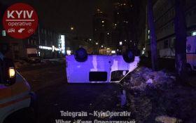 """В Киеве произошло """"каскадерское"""" пьяное ДТП: появились фото"""