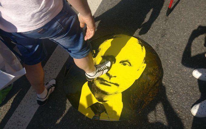 Царю пора на пенсію: в Росії тривають мітинги проти пенсійної реформи