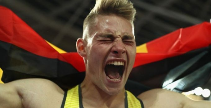 Веттер выиграл золото чемпионата мира в метании копья