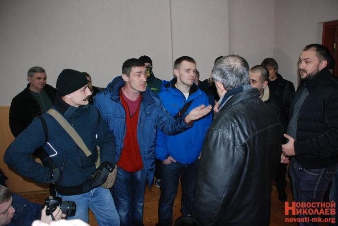 В Николаеве сорвали пропагандистскую акцию партии Медведчука: появились фото (11)