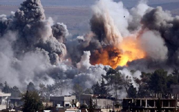 """Россия накануне """"режима тишины"""" совершила авианалеты в районе Дамаска"""